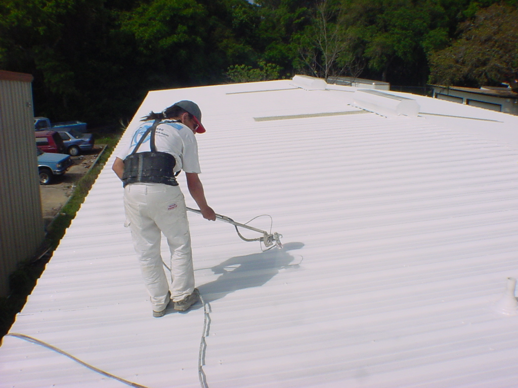 Spray Foam Roofing Powhatan VA